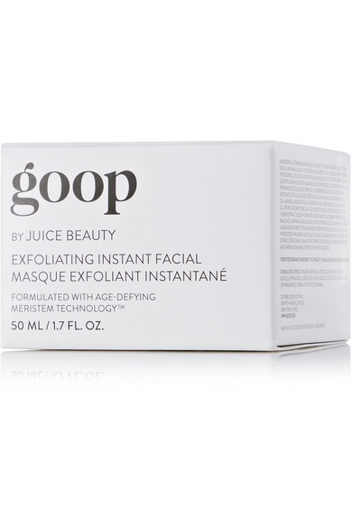 goop by juice beauty exfoliating instant facial review