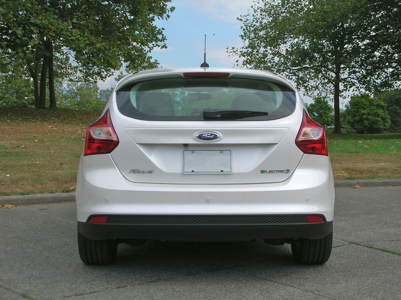 2014 ford focus electric review