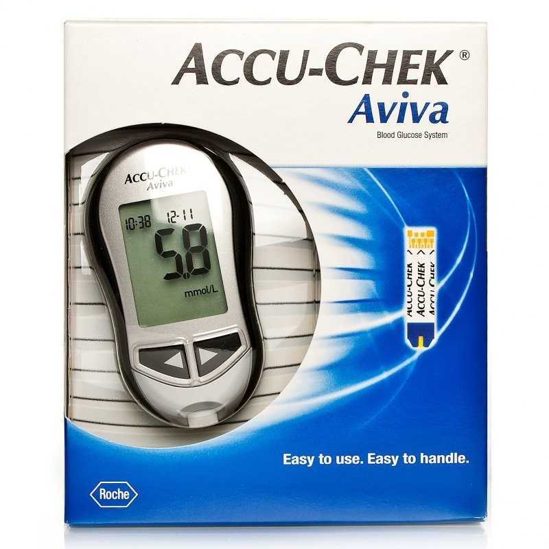 accu chek blood glucose meters review