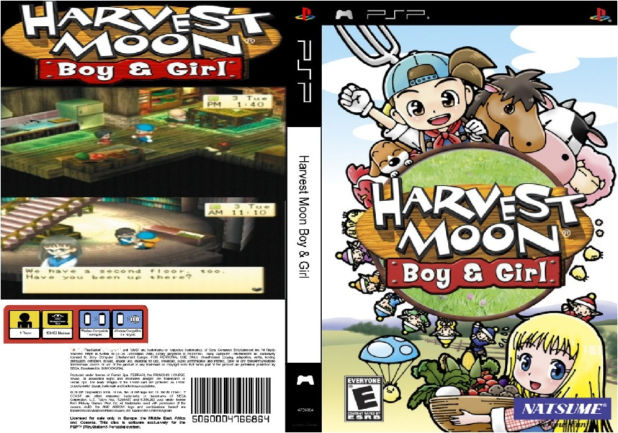 harvest moon boy and girl review