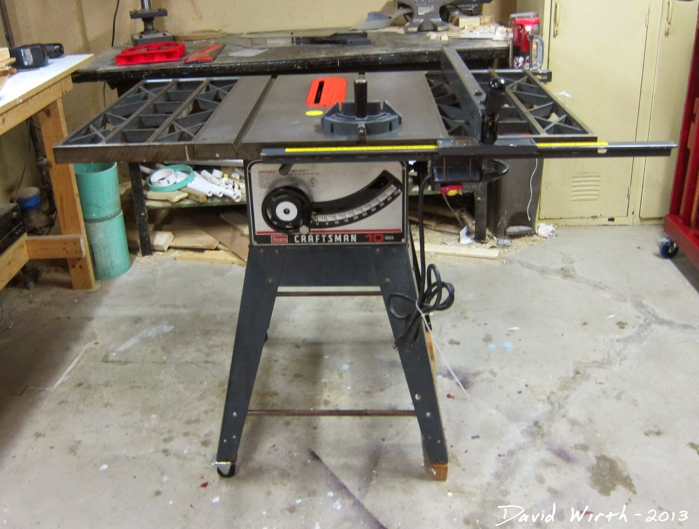 craftsman 3hp table saw review