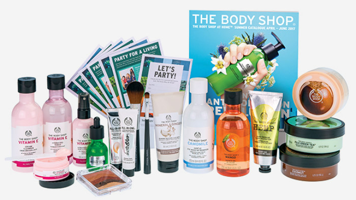 body shop makeup review 2017