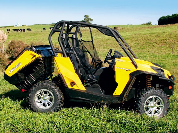can am side by side reviews