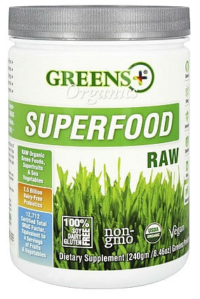 greens plus organic superfood review