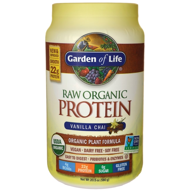 garden of life raw protein vanilla review