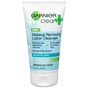 garnier clean makeup removing lotion cleanser review