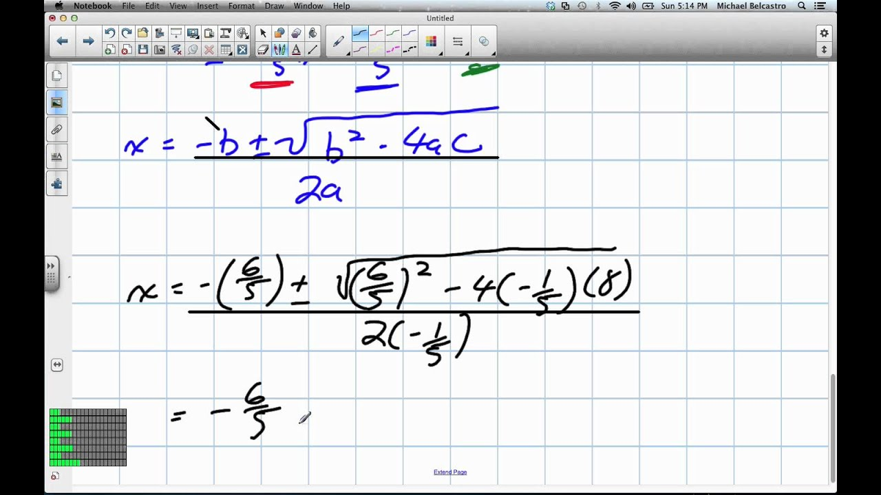 grade 12 advanced functions review
