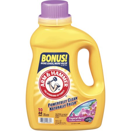 reviews for arm and hammer laundry detergent